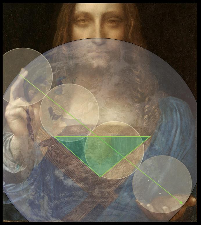 Salvator Leonardo Encoded Message
